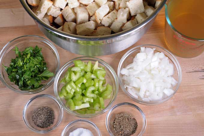 The various ingredients gathered into one place for easy reach or mise en place | Foodal