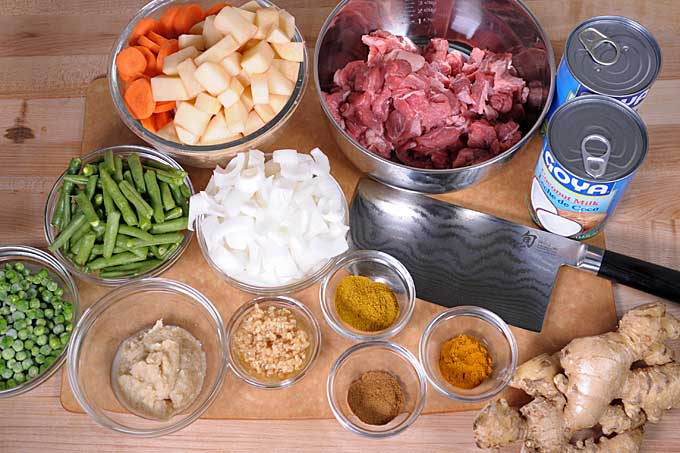 Easy Indian Lamb Curry Mise en Place | Foodal