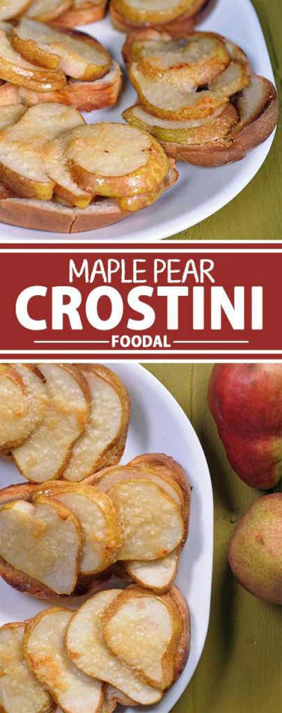 Looking for a quick and easy breakfast or brunch that has all the flavors of autumn? If so, be sure to check out this super yummy maple pear crostini recipe. Have an easy dessert-like meal or snack on the table in 20 minutes or less.