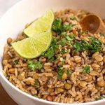 Recipe for Brown Rice and Lentil Salad | Foodal.com