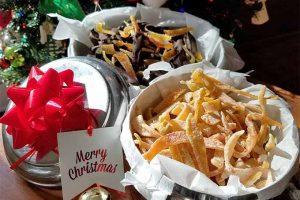 A Christmas Classic: Candied Citrus Peel 3 Ways