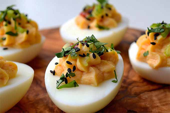 Asian Deviled Eggs | Foodal.com