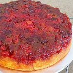 Cranberry Upside Down Cake Cooling | Foodal.com