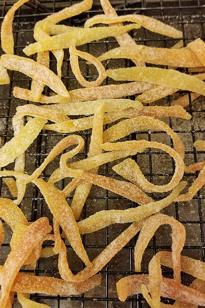 Making your own candy at home is a wonderful hobby! Get started with our recipe for candied citrus peel 3 ways: https://foodal.com/recipes/candy/candied-citrus-peel/