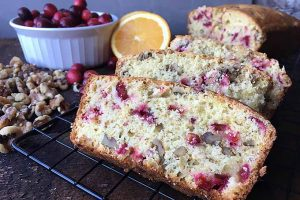 Orange Cranberry Nut Bread – A Sweet and Tart Treat