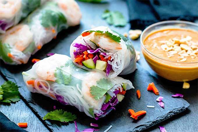 Fresh Spring Rolls | Foodal.com