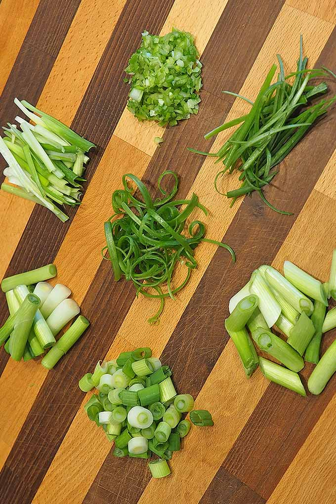 Want to learn the best cut for adding scallions to a story fry, or garnishing your soup with thinly sliced green onions? We share the details: https://foodal.com/knowledge/how-to/select-prep-chop-scallions/