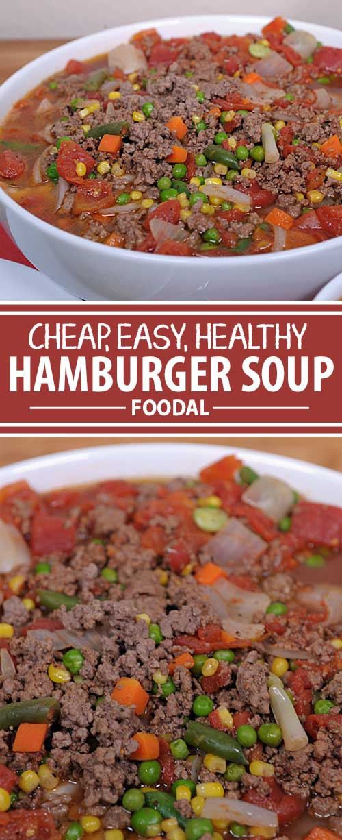 Need a fast, easy, and nutritious family meal? And did I mention light on the pocketbook as well? Check out our hamburger soup recipe. It's super quick and tasty as well. Have leftovers? Serve it two, three, or four days in a row or freeze it for make-ahead meals. See it now on Foodal!