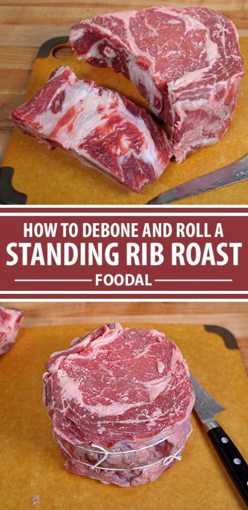Deboning and rolling your standing rib roast or bone-in ribeye can help the outside become nice and crusty while maintaining that beautiful pink interior that we all crave. Find out how it's done now.