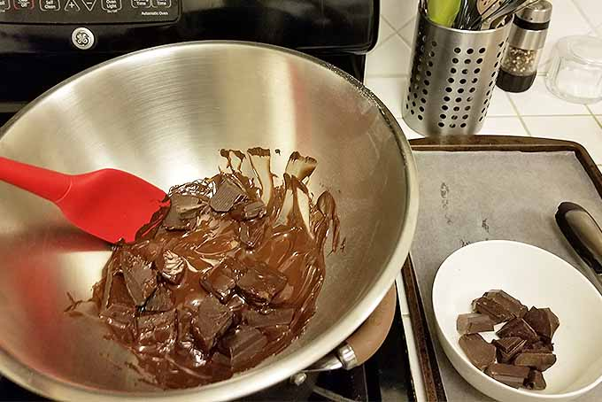 Melt Chocolate for Homemade Candied Citrus Peel | Foodal.com