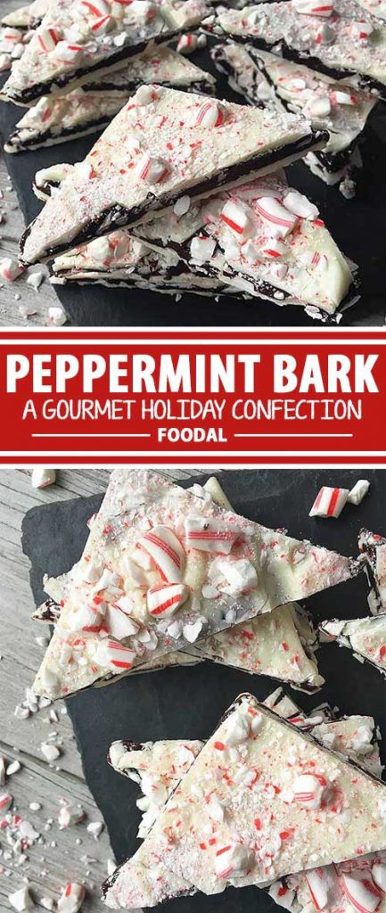Christmas is a time for remembering traditions of years past, as well as making new ones. Here's one new tradition to add to your stack of time-honored Christmas recipes: homemade peppermint bark, with layers of white and dark chocolates, and crunchy crumbles of peppermint candies. Get this festive recipe now on Foodal!