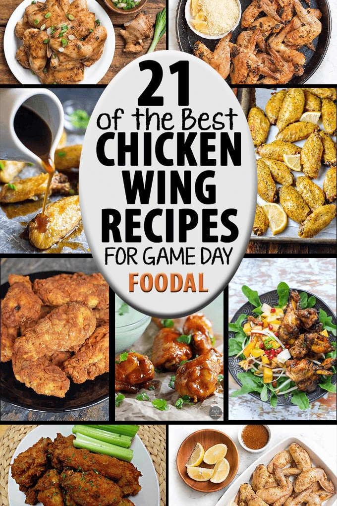 We've found the best chicken wing recipes from around the web, with a variety of flavor profiles and prep techniques to satisfy every hungry sports fan. Find them now on Foodal!