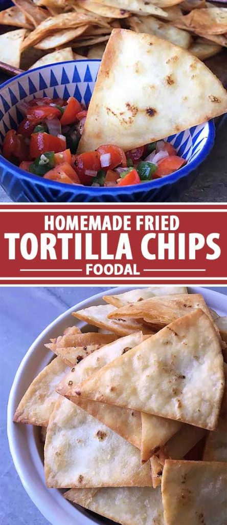 Tired of the same old nacho chips you buy at the store? Put down that bag, and make some in your own kitchen! Learn how to make homemade tortilla chips in just a few minutes using soft flour or corn tortillas. Simply fry them in oil to get crispy triangles perfect for dipping in your favorite salsa, guacamole, or hummus. Get the recipe now on Foodal.