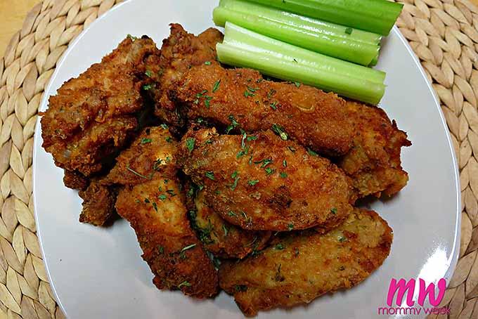 Easy Ranch Fried Wings | Foodal.com