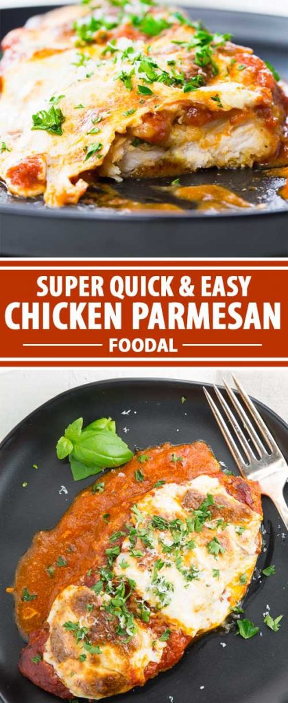 The Easiest Tastiest Chicken Parmesan Bake Recipe Foodal