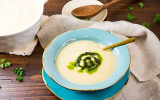 Celery Root and Apple Soup: A Healthy Choice for Cold Weather Comfort