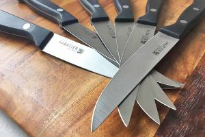 Always Stay Sharp with the Sabatier Self-Sharpening Edgekeeper Knives