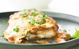 The Easiest, Tastiest Chicken Parmesan Bake