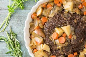 The Easiest and Most Succulent Pot Roast Recipe for the Slow Cooker