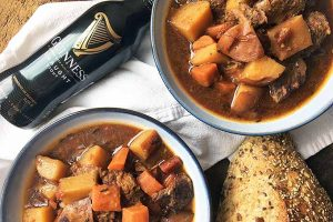 Slow Cooker Beef and Vegetable Stew with Guinness Stout