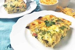 Don't Stress During Brunch with This Easy Overnight Egg Bake