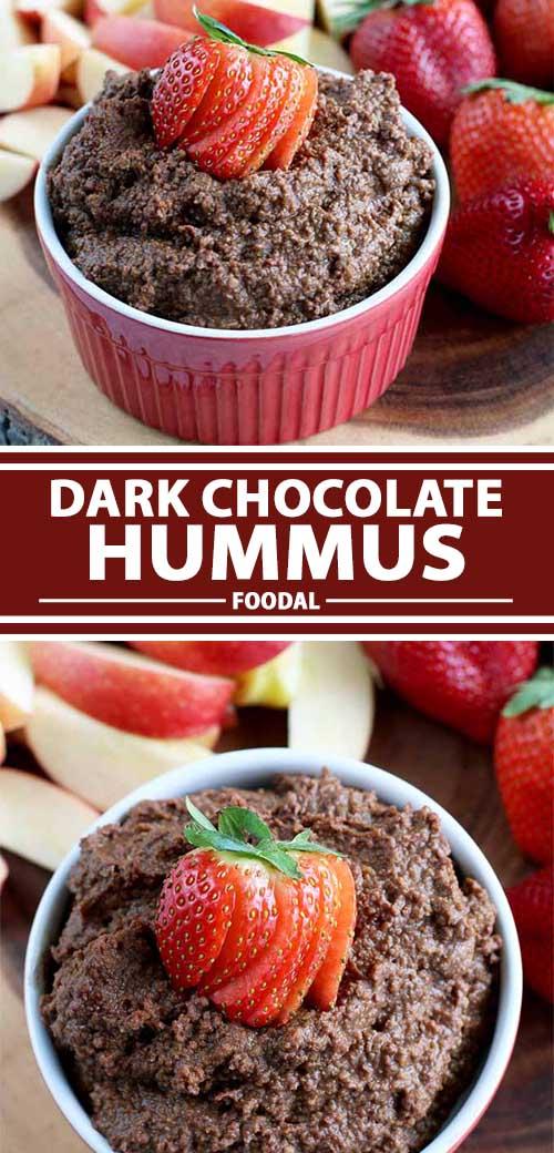 Chocolate Lovers Rejoice Over Dark Chocolate Hummus