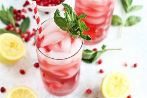 The Ultimate Sparkling Pomegranate Lemonade Recipe to Cool Off with This Summer