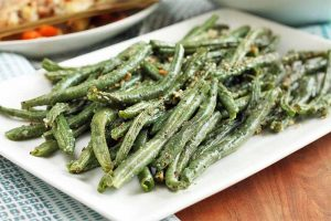 It Doesn't Get Easier Than This: Roasted Parmesan Green Beans