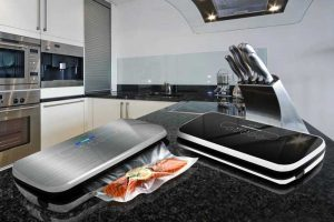 The NutriChef PKVS18SL Compact Vacuum Sealer: A Small Footprint for Easy Storage
