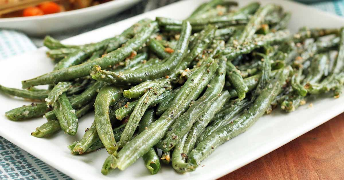 The Best Recipe for Parmesan Roasted Green Beans | Foodal