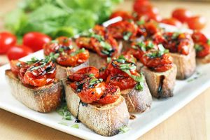 Tangy Roasted Tomato Crostini Is the Best Quick Appetizer