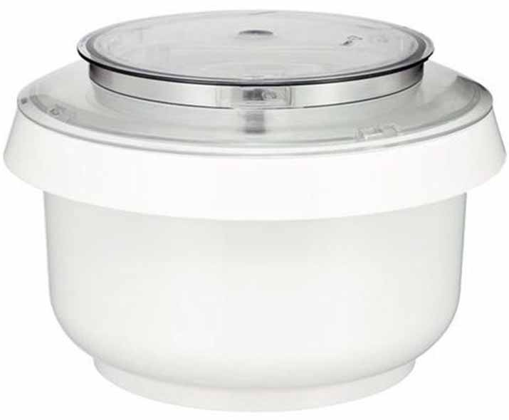 Image of a plastic bowl with a lid.