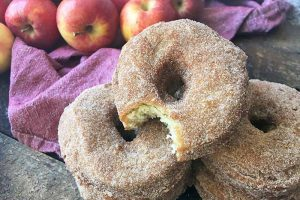 Give Autumn a Warm Welcome with Spiced Apple Cider Doughnuts