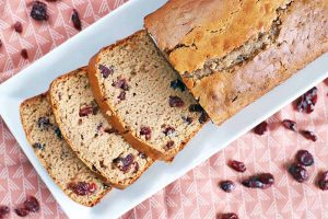 Enjoy the Tang of Cranberry Quick Bread
