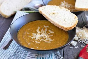Set Your Taste Buds on Fire with a Bowl of Spicy Roasted Vegetable Soup