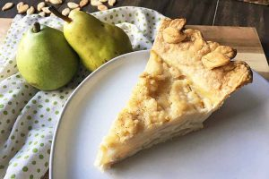 Homemade Spiced Pear Custard Pie: Celebrate Fall With Creamy Deliciousness