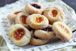 Flourless Almond Thumbprint Cookies: A Gluten-Free Treat