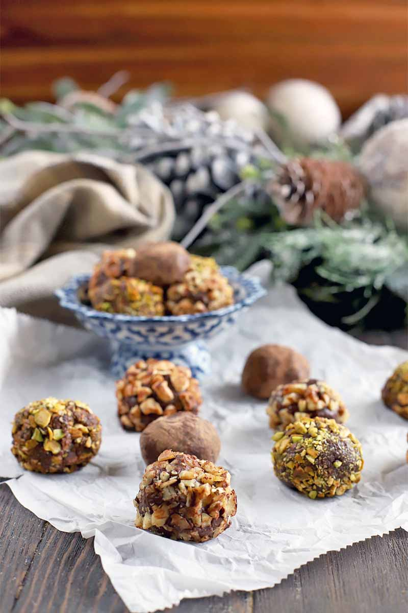 Deluxe Homemade Dark Chocolate Truffles for Holiday Gifting | Foodal