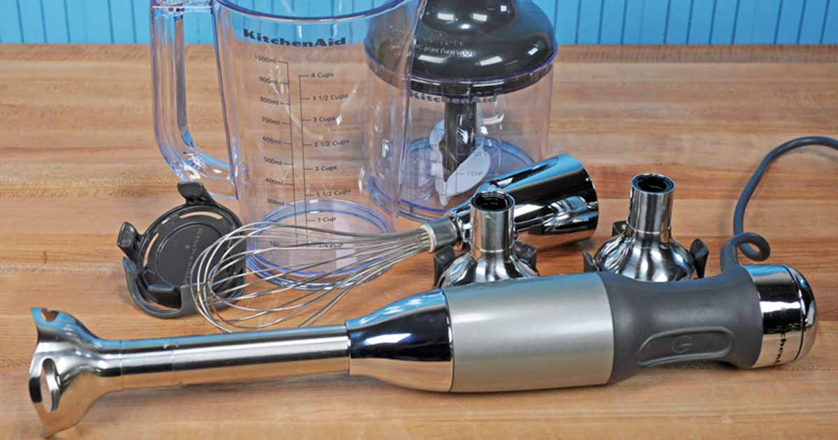 Kitchenaid Khb2561 5 Speed Hand Blender Hands On Review