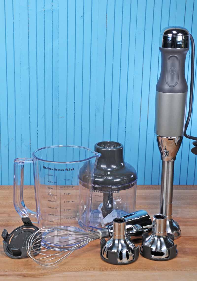 KitchenAid KHB2561 5-Speed Hand Blender Hands-On Review Foodal