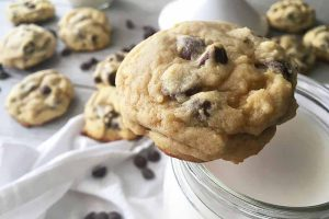 Ooey-Gooey, Soft and Chewy Chocolate Chip Cookies
