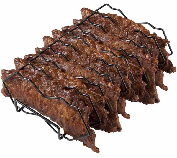 Primo Premium Rib Rack on a white, isolated background.