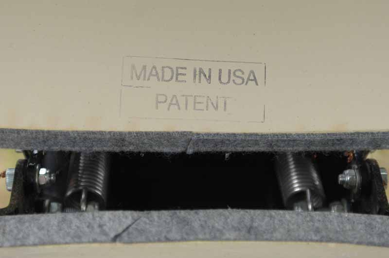 Made in the USA stamped on the inside of the lid of the Primo XL 400.