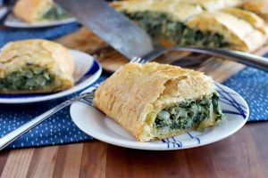 Save the Day with Spinach In Puff Pastry