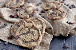 Sweeten Up Your Week with Chewy Vegan Cherry Chocolate Chunk Cookies