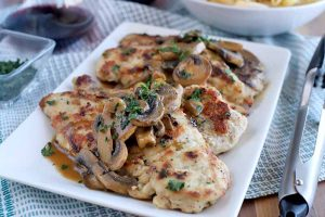 Easy Weeknight Chicken Marsala