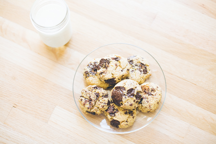 A trip to an international grocery inspired these chickpea flour chocolate chip cookies, which are free of gluten and high in protein.