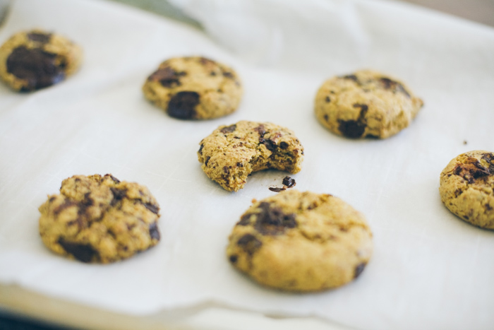 When you want to travel without leaving your home, visit an international grocery store where you may be able to find wonders like cheap organic chickpea flour, which makes a great chocolate chip cookie base.
