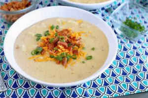 30-Minute Loaded Baked Potato Soup Is Creamy Comfort in a Bowl