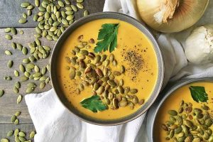 Creamy and Comforting Pumpkin Soup